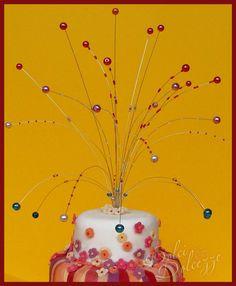 torta-di-carnevale con fontana di perle