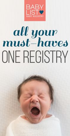 You can add anything to your baby registry with BabyList. Literally anything - even Etsy items, baby sitting, or an aquarium/zoo membership! It\'s easy, beautiful & free. BabyList works just like Pinterest. Simple enough for the grandparents-to-be too.