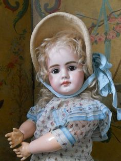 ~~~ Rare German Bisque Child Doll 949 by Simon and Halbig ~~~ from whendreamscometrue on Ruby Lane