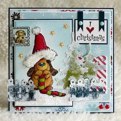 "Penny Black ""That Christmas Feeling"""