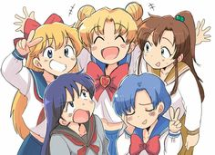 Sailor Moon Tumblr, Sailor Moon Gif, Arte Sailor Moon, Sailor Moon Wallpaper, Sailor Moon Crystal, Sailor Jupiter, Sailor Venus, Sailor Mars, Sailer Moon