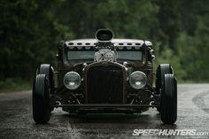 'The Rusty Demon' - A Slammed '31 Ford Rat Rod