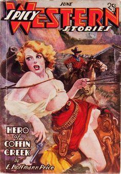 Spicy Western Stories June 1937