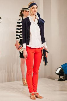 This year I would like some red jeans... and maybe some other color jeans as well