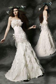 Maria Karin Couture 2011 Wedding Dress Collection | Wedding Inspirasi  #provestra