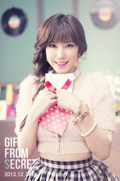 SECRET releases a lovely Hyosung teaser for their 3rd single 'Gift From SECRET' | allkpop.com