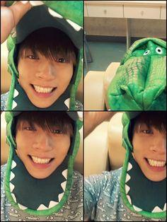 Jonghyun dinosaur