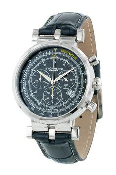 Men's Swiss Trackmaster Chronograph Watch on HauteLook