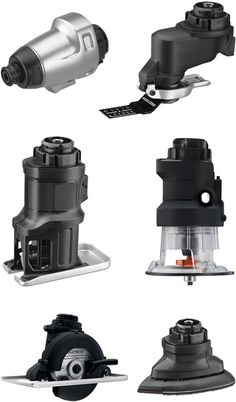 Accessories for Black & Decker's upcoming line of modular power tools.