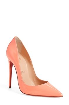 christian louboutin so kate - marble pointy toe pump