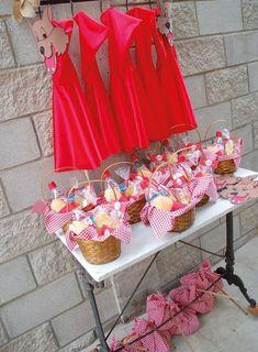 Ideas para fiestas de Caperucita Roja | Tarjetas Imprimibles
