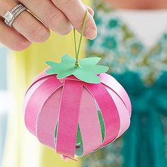 Craft Strawberry Party Favors