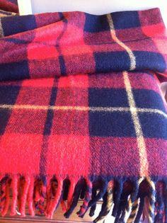 Vintage wool camp blanket by JunkyardGenes on Etsy, $45.00