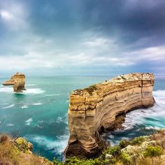 Grey skies combined with awesome scenery along the Great Ocean Road. Beautiful capture of the Razorback rock formation courtesy of @maurice_mangiagli #liveinvictoria #victoria #vic #greatoceanroad #gor #razorback #rocks #rockformation #12apostles #sea #ocean #surf #waves #beach #landscape #landmark #nature #beautiful #scenic #love #australia #liveinaustralia by liveinvictoria http://ift.tt/1ijk11S