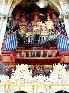 Catedral, (La Seo), Zaragoza, Aragón, España