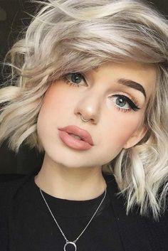 25 Trendy Messy Bob Hairstyles for Womens 2018