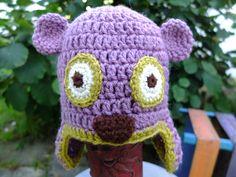 Bear Crochet Hat