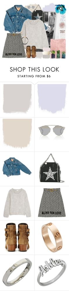 """""""01.03.17 - ootd"""" by halseys-clothes ❤ liked on Polyvore featuring Christian Dior, Balenciaga, STELLA McCARTNEY, Chloé, Gucci, Yves Saint Laurent, Cartier, Harry Winston, Rothko and ootd"""