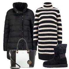 Siamo a gennaio e quindi ancora in pieno inverno e in alcune zone, la neve la fa da padrona. Essere trendy in questi casi non è semplice ma questo outfit è, secondo me, il giusto compromesso tra comodità, calore e moda.