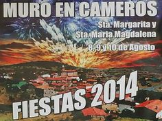Desde las 21:00 horas #MuroEnCameros ya está de #Fiesta!! ...♪ ♫ #FiestasRiojanas ...♪ ♫
