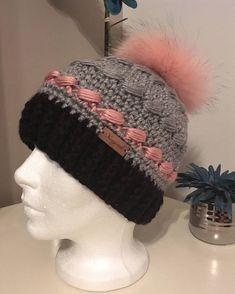 Loom Knit Hat, Crochet Beanie, Loom Knitting, Knitted Hats, Knit Crochet, Crochet Hats, Pictures Of Hats, Bonnet Crochet, Kids Corner