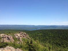 Mount Carleton, the highest peak in the Atlantic Provinces.