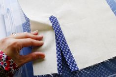 Sewing A House (or Tower) Tailored Shirt Placket | http://sewaholic.net/sewing-a-house-or-tower-tailored-shirt-placket/