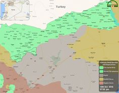 #FSA || #EuphratesShield  #Map of latest advances of Free Syrian Army forces against #Daesh in northern #Aleppo province  #Syria