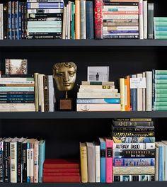 Interesting way to display books