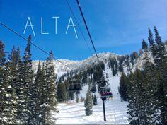 Alta Ski Resort. The best EVER!!!!