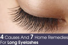 8 Natural Remedies To Get Beautifully Long Eyelashes. lashes play a crucial role in that dramatic and sexy look that we all yearn for, Here are some natural ways to make eyelashes longer and beautiful. Do Eyelashes Grow Back, Make Eyelashes Longer, Thicker Eyelashes, Long Lashes, Mink Eyelashes, Eyelashes Makeup, Olive Oil For Eyelashes, Castor Oil Eyelashes, Beauty Care