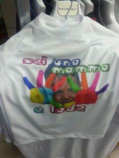 La t shirt che fa impazzire le mamme.   Immaginatela con il viso di vostro figlio.
