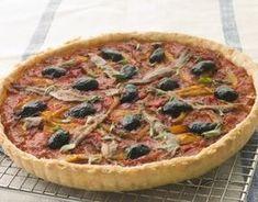 Recette - Tarte tomates anchois façon pissaladière | 750g