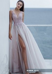 Purple wedding dress-Isys gown from Crystal World collection Crystal Wedding Dresses, Dream Wedding Dresses, Prom Dresses, Formal Dresses, Bridal Boutique, Purple Wedding, Tulle, Gowns, Boho