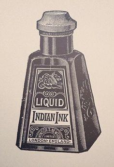 Indian Ink Print by Adam Trageser