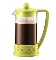 Bodum. Just got one of these and coffee is better then ever!
