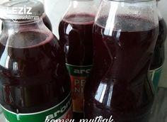 Kışlık Erik Suyu Plum Juice, Drip Coffee Maker, Beer Bottle, Coca Cola, Red Wine, Alcoholic Drinks, Food And Drink, Winter, Pasta