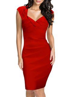 Miusol® Women's Square Neck Fitted Sleeveless Retro Bridesmaid Dress $24.99 http://www.amazon.com/gp/product/B011I4AK8S/ref=as_li_qf_sp_asin_il_tl?ie=UTF8&camp=1789&creative=9325&creativeASIN=B011I4AK8S&linkCode=as2&tag=wwwthebestnik-20&linkId=IOSV3CA3LRMP34AS