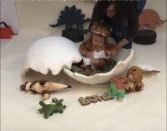 Dinosaur hatching from the egg. Half Birthday Baby, Dinosaur First Birthday, First Birthday Photos, Die Dinos Baby, Baby Dinosaurs, Dinosaur Photo, Dinosaur Pictures, First Birthday Photography, 1st Birthday Photoshoot