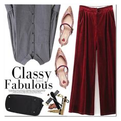 """""""Classy & Fabulous"""" by oshint ❤ liked on Polyvore featuring Gucci"""
