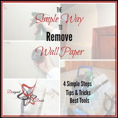 Simple Way to remove wallpaper- Chemcial Free Wall Paper Removal System
