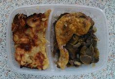 Dietní kuřecí stehno se žampiony. Autor: sonizna