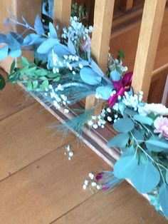 Weddings Garland, Glass Vase, Barn, Stairs, Weddings, Flowers, Home Decor, Converted Barn, Stairway