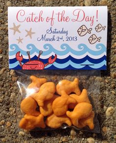 Custom Nautical Themed Catch of the Day by TheCreativeSideshow