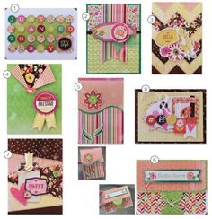 Basic Grey Card of The Month January 2015 Featuring Vivienne Kit Bundle | eBay