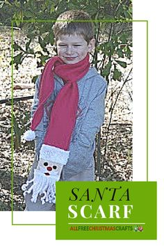 How warm does this Santa Scarf look??