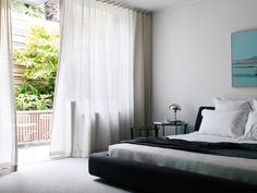 great airy bedroom