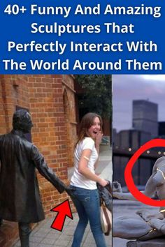 Most sculptures around cities are, let's face it, pretty forgettable. Eye Makeup Art, Natural Eye Makeup, Body Makeup, Eye Makeup Tips, Free Makeup, Fall Humor, Hair Dye Tips, Elegant Hairstyles, Men's Hairstyles