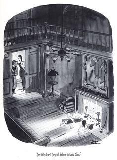 Artist Charles Addams//