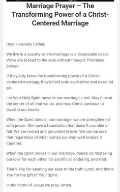 Prayer For My Marriage, Marriage Bible Verses, Christ Centered Marriage, Marriage Help, Godly Marriage, Healthy Marriage, Prayer Scriptures, Happy Marriage, Marriage Advice